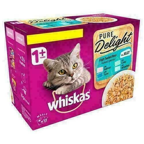 Whiskas 1+ Cat Pouch  Fish Delight