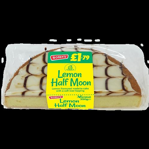 Bobbys Lemon Half Moon Cake