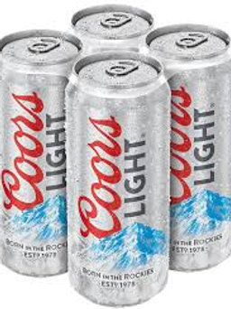 Coors Light (4x568ml)