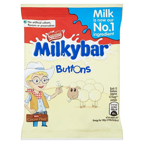 Milky Bar Buttons Bag