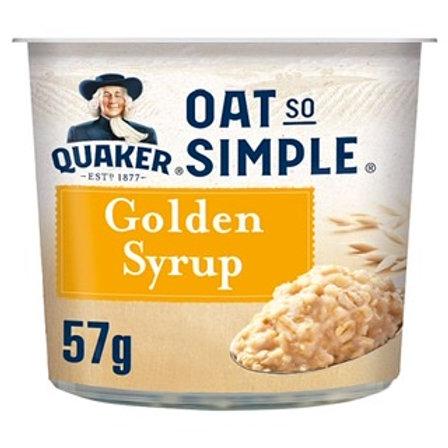 Quaker Oat So Simple Golden Syrup Pot