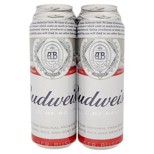 Budweiser  4x568ml