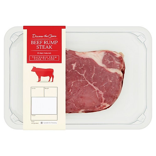 Discover The Choice Rump Steaks