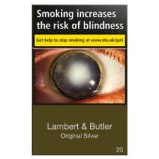 Lambert & Butler Ks Orig Silver