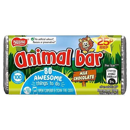 Animal Bar Milk Chocolate
