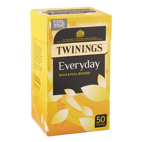 Twinings Every Day Tea Bags (50bags)