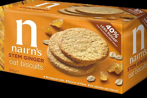 Nairns Stem Ginger Biscuits