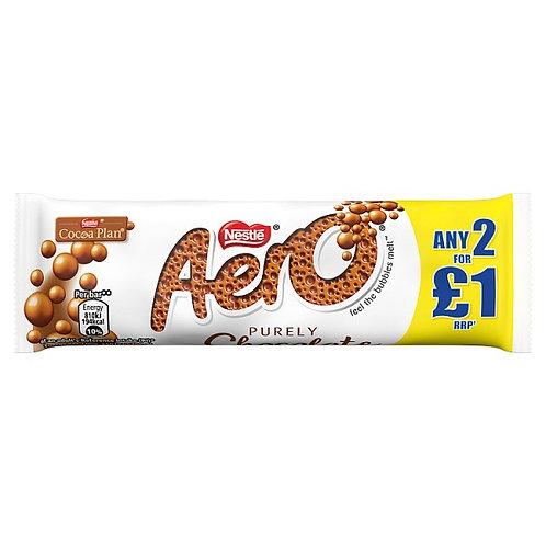 Aero Bubbly Milk Chocolate Bar