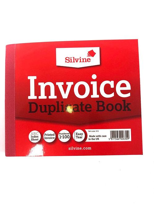 Duplicate Invoice Book