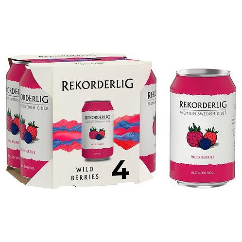 Rekorderlig Wildberries Cider 4x330ml