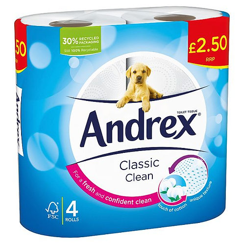 Andrex Classic CleanToilet Paper