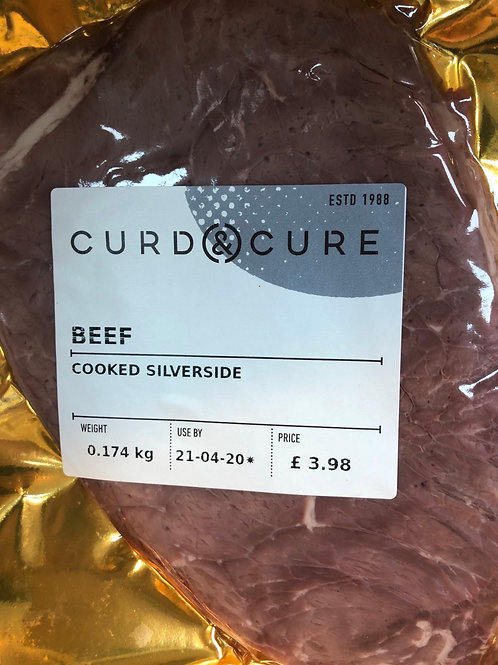 Roast Beef, Curd and Cure