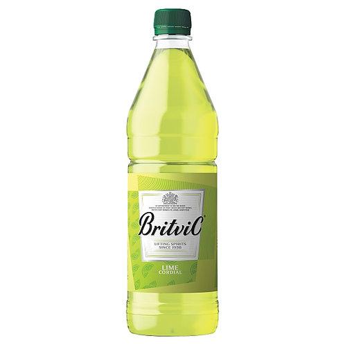 Britvic Lime Cordial 1lt