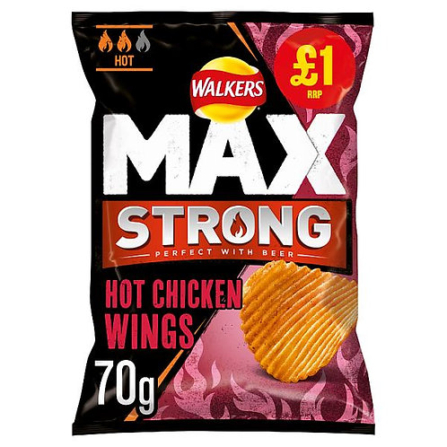 Max Strong Hot Chicken Wings