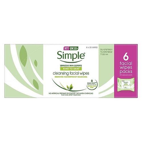 Simple Cleansing Facial Wipe
