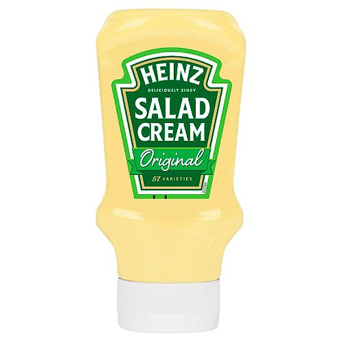 Heinz Salad Cream Topdown