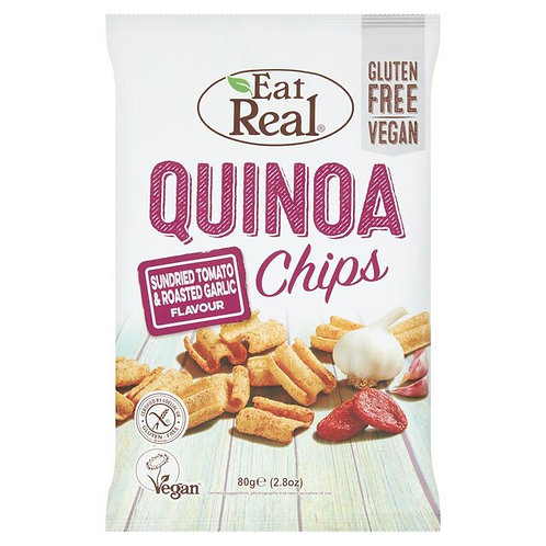 Eat Real Quinoa Sundries Tomato & Roasted Garlic 30g