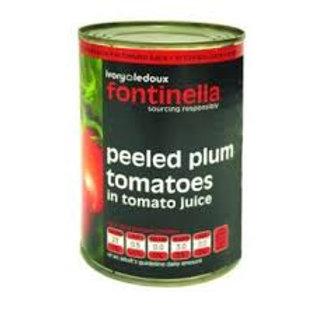 Fontinella Peeled Plum Tomatoes