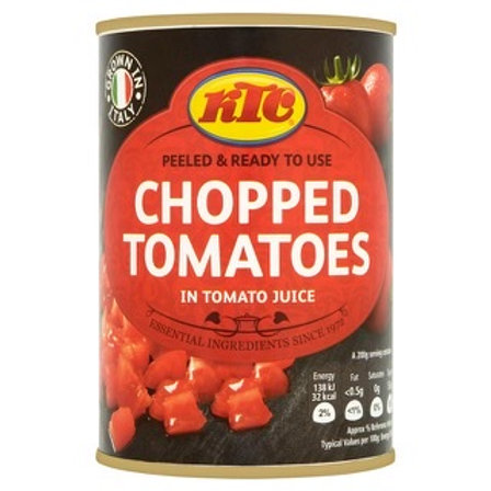 K T C Chopped Tomatoes