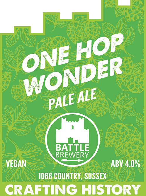 One Wonder Pale Ale (Battle Brewery)