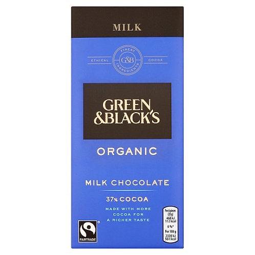 Green & Black Organic Milk Chocolate