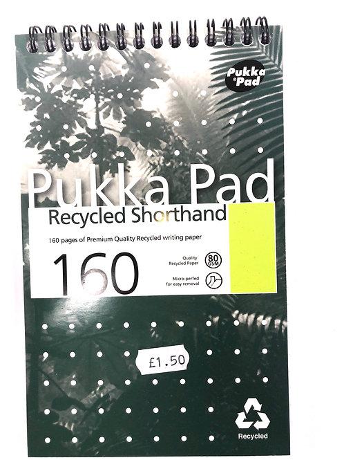 Pukka Pad Recycled Shorthand Pad