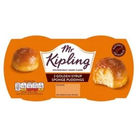 Mr Kipling Spng Pud Gold Syr