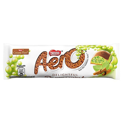 Aero Bubbly Peppermint Chocolate Bar