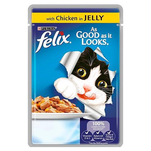 Felix As Good As It Looks Chicken Pouch