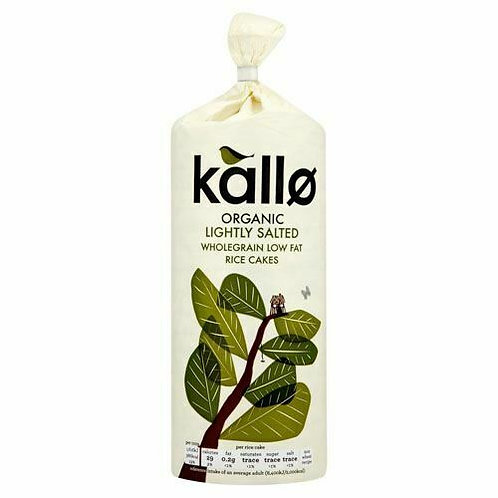Kallo Organic Rice Cake Salted