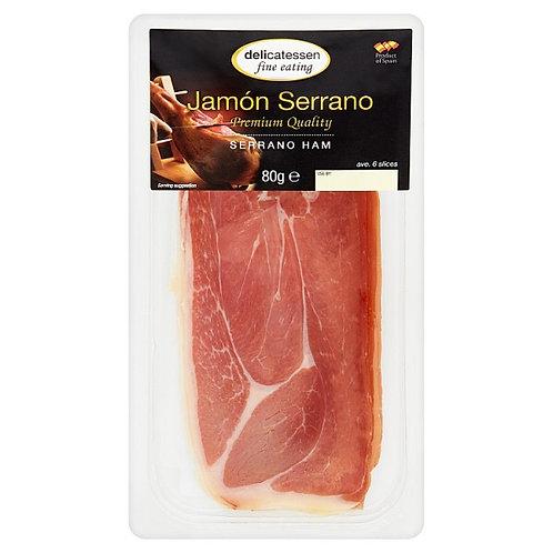 Delicatessan Fine Eating Serrano Ham