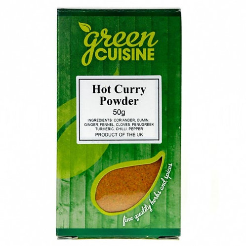 Green Cuisine Hot Curry Powder