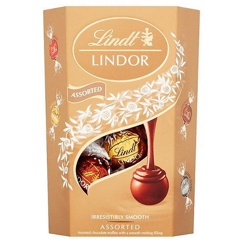 Lindt Lindor Assorted Carton 200gr