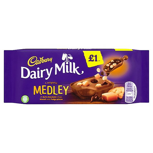 Cadbury Medley Fudge Bar