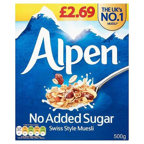 Alpen  No Added Sugar 500g