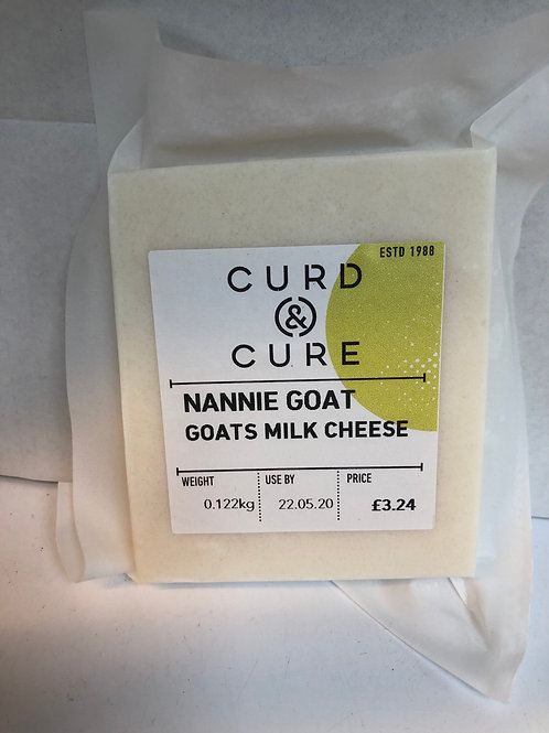 Nannies Goat Mature Cheese, Curd and Cure