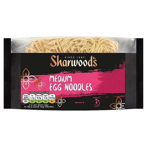 Sharwood Med Egg Noodles 340G