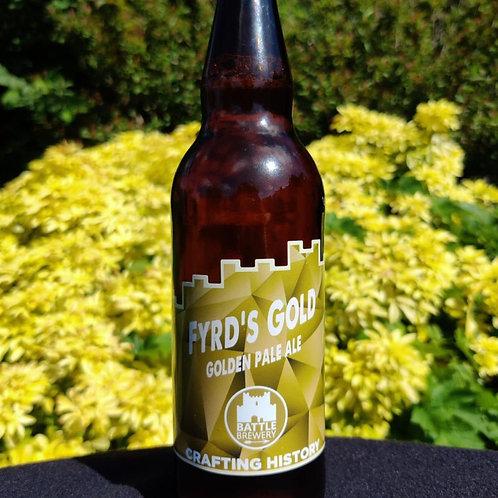 Fryd's Gold Golden Pale Ale (Battle Brewery)