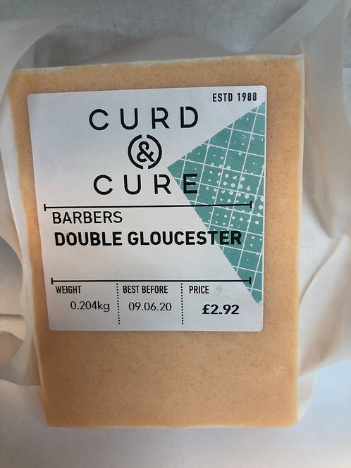 Double Gloucester Cheese, Curd and Cure