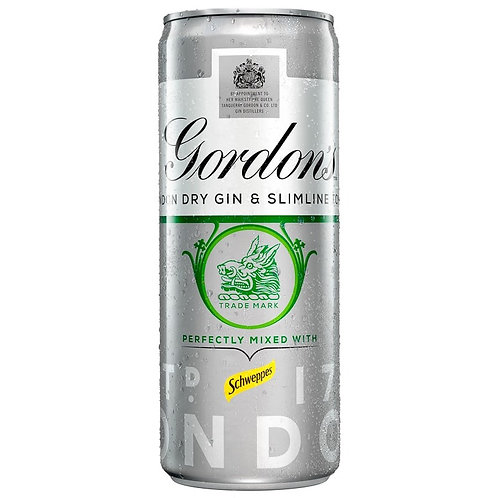 Gordons & Slimline Tonic