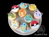 Cup cakes pokémon
