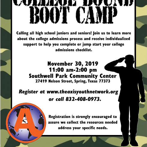 College Bound Boot Camp