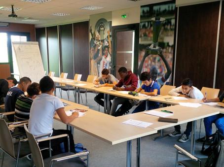 Les ateliers Jules Rimet à l'Olympique Lyonnais
