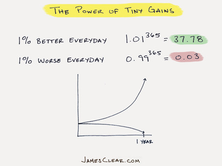 A 1% Change In Your Trajectory = Success