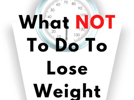 ❌ DON'T Do This If You Want To Lose Weight