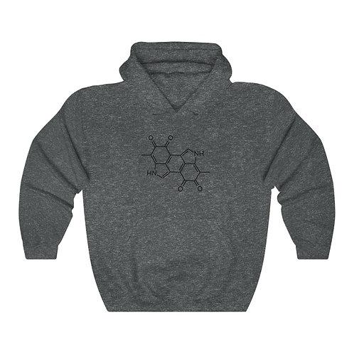 Melanin Chemical Compound Hooded Sweatshirt