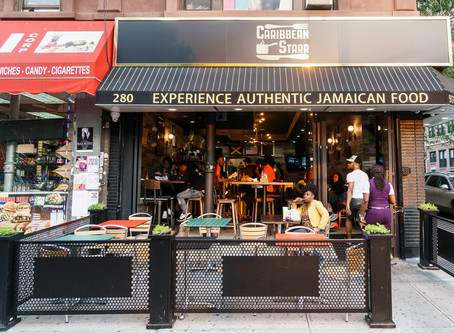 Caribbean Starr - Best outdoor dining in NYC