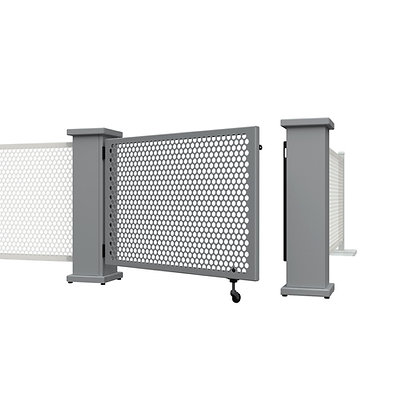 Gate Set- Corner & Straight Planter Stands (Circle)
