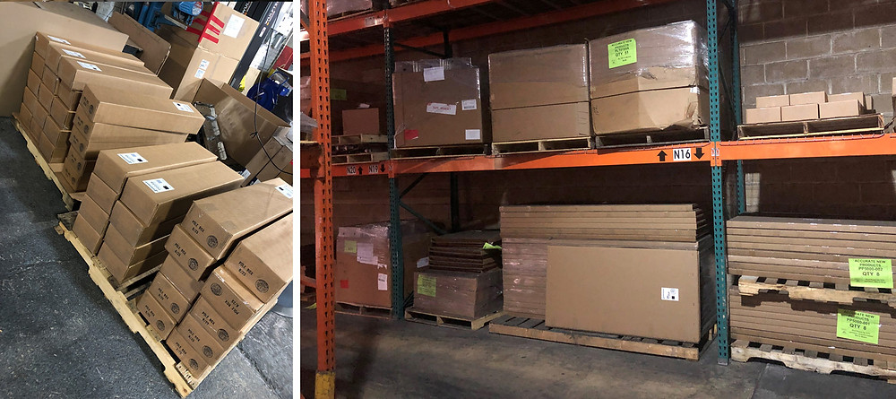 Boxes and warehousing