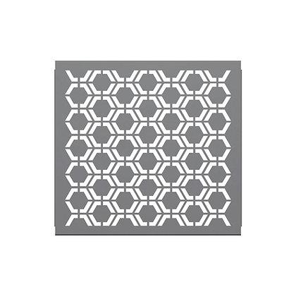 3' Partition Panel-Hex